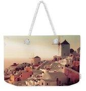 Oia Sunset Weekender Tote Bag