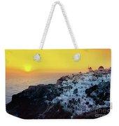 Oia Town , Santorini Island, Greece Weekender Tote Bag