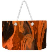 Oil Abstract Weekender Tote Bag