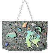 Oil Abstract Weekender Tote Bag