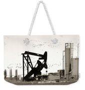 Oil And Birds Weekender Tote Bag
