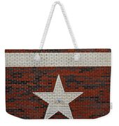 Oil And Texas Star Sign Weekender Tote Bag