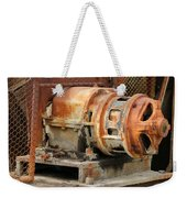 Oil Field Electric Motor Weekender Tote Bag