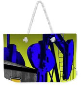 Oil Industry Well Pump Weekender Tote Bag
