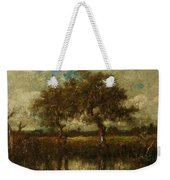 Oil Painting Landscape Weekender Tote Bag