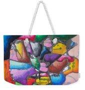 Oil Pastel Abstract Weekender Tote Bag