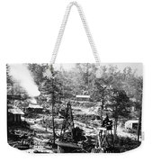 Oil: Pennsylvania, 1863 Weekender Tote Bag