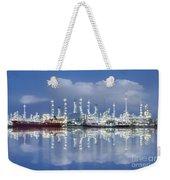 Oil Refinery Industry Plant Weekender Tote Bag