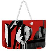Oil Well Pump #4 Weekender Tote Bag