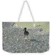 Standing In The Wave Weekender Tote Bag