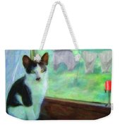 Ok I'll Pose - Painting - By Liane Wright Weekender Tote Bag