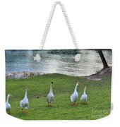 Ok   Too Close Weekender Tote Bag
