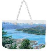 Okanagan Blue Weekender Tote Bag