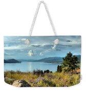 Okanagan Lake In The Spring Weekender Tote Bag