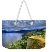 Okanagan Lake On A Thursday Weekender Tote Bag