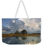 Okavango Delta Evening Weekender Tote Bag