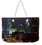 Okc Evening Weekender Tote Bag
