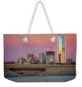 Okc Sunset Weekender Tote Bag