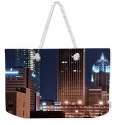 Okc Towers Weekender Tote Bag