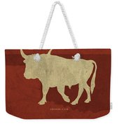 Oklahoma State Facts Minimalist Movie Poster Art Weekender Tote Bag