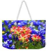 Oklahoma Wildflowers Weekender Tote Bag