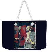 Ol' Blue Eyes - Frank Sinatra Weekender Tote Bag