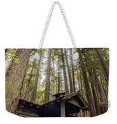 Old Abandoned Cabin In The Woods Weekender Tote Bag