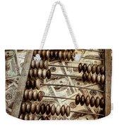 Old Accounting Wooden Abacus Weekender Tote Bag