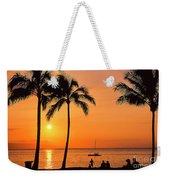 Old Airport Beach Sunset Weekender Tote Bag