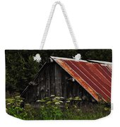 Old Alaskan Shed Weekender Tote Bag