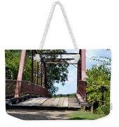 Old Alton Bridge In Denton County Weekender Tote Bag