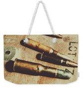 Old Ammunition Weekender Tote Bag