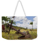 Old Anchor In Kauai Weekender Tote Bag