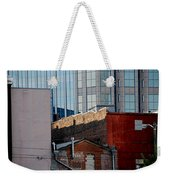 Old And New Close Together Weekender Tote Bag