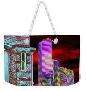 Old And New Seattle Weekender Tote Bag