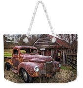 Old And Rusty Weekender Tote Bag