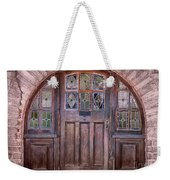 Old Arched Doorway-tucson Weekender Tote Bag