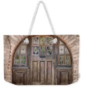 Old Archway And Door Weekender Tote Bag