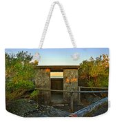 Old Army Lookout In Sunset Hour Weekender Tote Bag