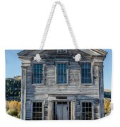 Old Bannack Schoolhouse And Masonic Temple 2 Weekender Tote Bag