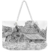Old Barn 4 Weekender Tote Bag by Barry Jones