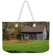 Old Barn And Rusty Farm Implement 01 Weekender Tote Bag