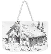 Old Barn Cable Ghost Town Montana Weekender Tote Bag