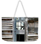 Old Barn Closeup Weekender Tote Bag