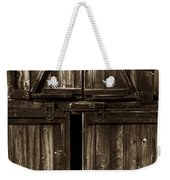 Old Barn Door - Toned Weekender Tote Bag