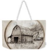Old Barn Weekender Tote Bag by Eric Fan