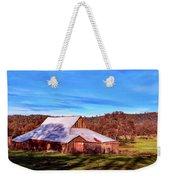 Old Barn In California Weekender Tote Bag