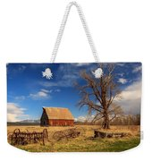 Old Barn In Chester Weekender Tote Bag