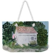 Old Barn In Eastham Ma Weekender Tote Bag