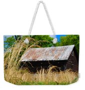 Old Barn In Roxborough Weekender Tote Bag